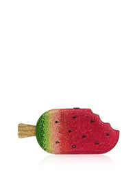 Judith Leiber Popsicle Watermelon Clutch Bag Pink