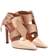 Altuzarra Kirk Leather Pumps Beige