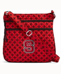 Vera Bradley North Carolina State Wolfpack Triple Zip Hipster Red