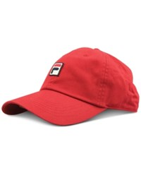 Fila Heritage Cotton Baseball Cap Red