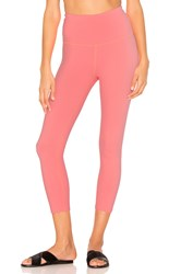 Beyond Yoga High Waist Capri Legging Pink