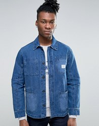 Pepe Jeans Workwear Denim Jacket Blue