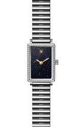 Gomelsky Women's The Shirley Fromer Diamond Bracelet Watch 26Mm X 18.5Mm