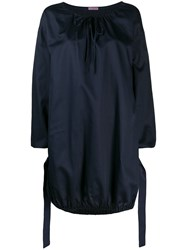 Undercover Cocoon Dress Blue