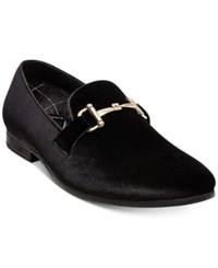 Steve Madden Men's Coine Velvet Loafers Men's Shoes Black