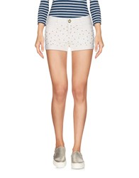 Fixdesign Atelier Denim Shorts Ivory