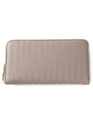 Zanellato Wavy Textured Wallet Grey
