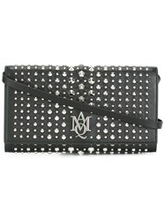 Alexander Mcqueen Amq Pouch With Strap Women Calf Leather One Size Black