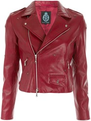 Guild Prime Moto Jacket Red