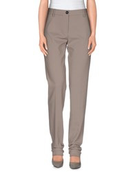 Max Mara Studio Trousers Casual Trousers Women Dove Grey