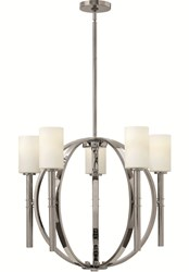 Hinkley Margeaux Chandelier 3585 Small 26 In Dia Pn Polished Nickel Silver