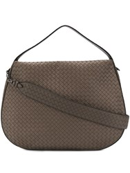 Bottega Veneta City Tote Brown