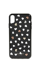 Kate Spade New York Heartbeat Iphone Xs Max Case Black White