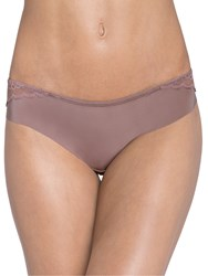 Triumph Spotlight Amourette Brazilian Briefs Brown Light Combo