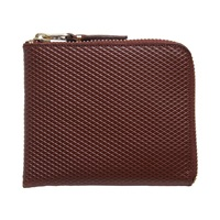 Comme Des Garcons Sa3100lg Luxury Wallet Brown