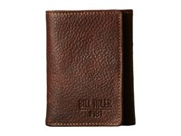 Bill Adler 1981 Pebble Front Pocket Brown Wallet Handbags