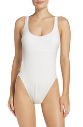 Lucky Brand Women's Sucker For Pretty One Piece Swimsuit