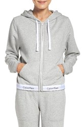 Calvin Klein Women's Lounge Hoodie Grey Heather