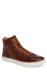 English Laundry Men's Anerley Sneaker Cognac Leather