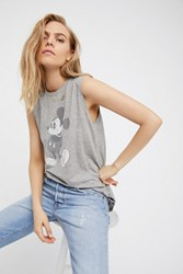Disney Collection X David Lerner Womens Mickey Mouse Tank