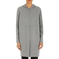 Cacharel Women's Hooded Coat Grey Size 0 Us