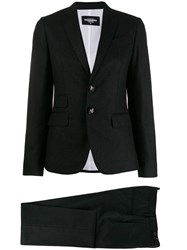 Dsquared2 Tailored Vented Blazer Grey
