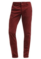 Only And Sons Onssharp Chinos Cabernet Bordeaux
