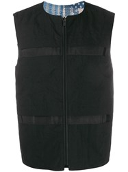 Natural Selection Utility Revesible Vest Black