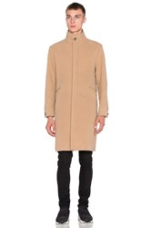 424 Wool Trench Tan