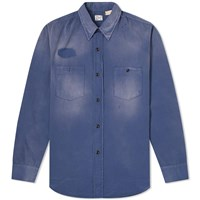 Levi's Vintage Clothing 1950'S Worker Overshirt Blue