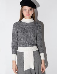 Pixie Market Marl Turtle Neck Sweater