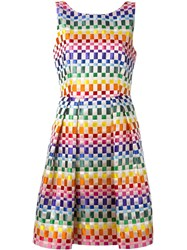 Roberto Capucci Woven Ribbon Dress Multicolour
