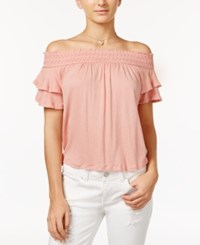 American Rag Ruffled Off The Shoulder Top Only At Macy's Mellow Rose