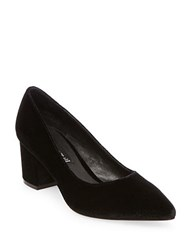 Steve Madden Bambu Velvet Dress Pumps Black