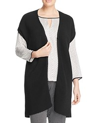 Marina Rinaldi Manto Long Cardigan Black