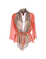 Michelle Windheuser Shirts Rust