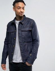 G Star Vodan 3D Slim Jacket Raw Denim Blue