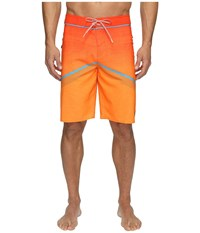 O'neill Hyperfreak Superfreak Series Boardshorts Neon Orange Men's Swimwear