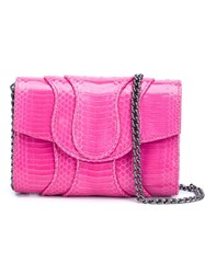 Khirma Eliazov 'Jolie' Clutch Bag Pink And Purple