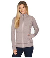 Carhartt Force Extremes Zip Front Sweatshirt Sparrow Heather Pink