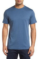 Robert Barakett Men's 'Georgia' Crewneck T Shirt Bering Sea