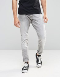 G Star G Star 3301 Tapered Jeans Light Grey Grey Blue