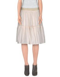 Gianfranco Ferre Gf Ferre' Skirts Knee Length Skirts Women White