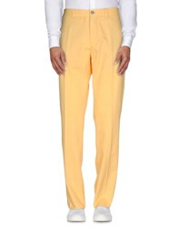 Burberry London Trousers Casual Trousers Men Yellow