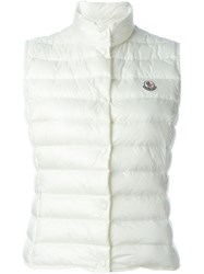 Moncler 'Liane' Gilet Nude And Neutrals