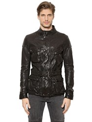 Belstaff Speed Master Leather Jacket
