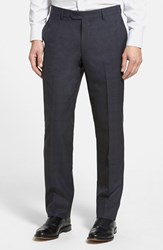Men's Nordstrom Flat Front Wool Trousers