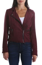 Kut From The Kloth Faux Suede Eveline Jacket Raisin