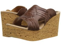 Sbicca Manny Brown Women's Wedge Shoes