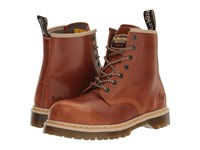 Dr. Martens Work Icon 7B10 Tan Industrial Waxy Men's Boots Brown